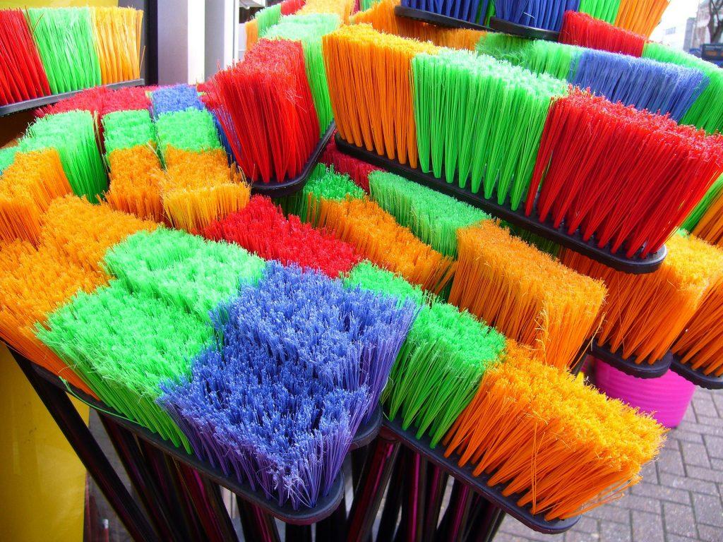 Haus reinigen